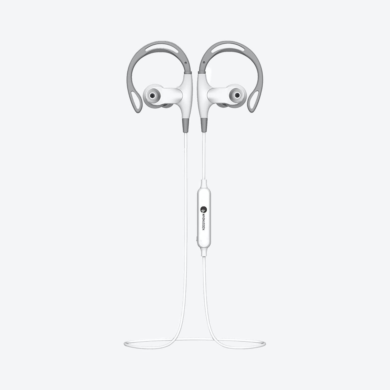 MAGNUSSEN M8 Bluetooth Wireless Earphones in White