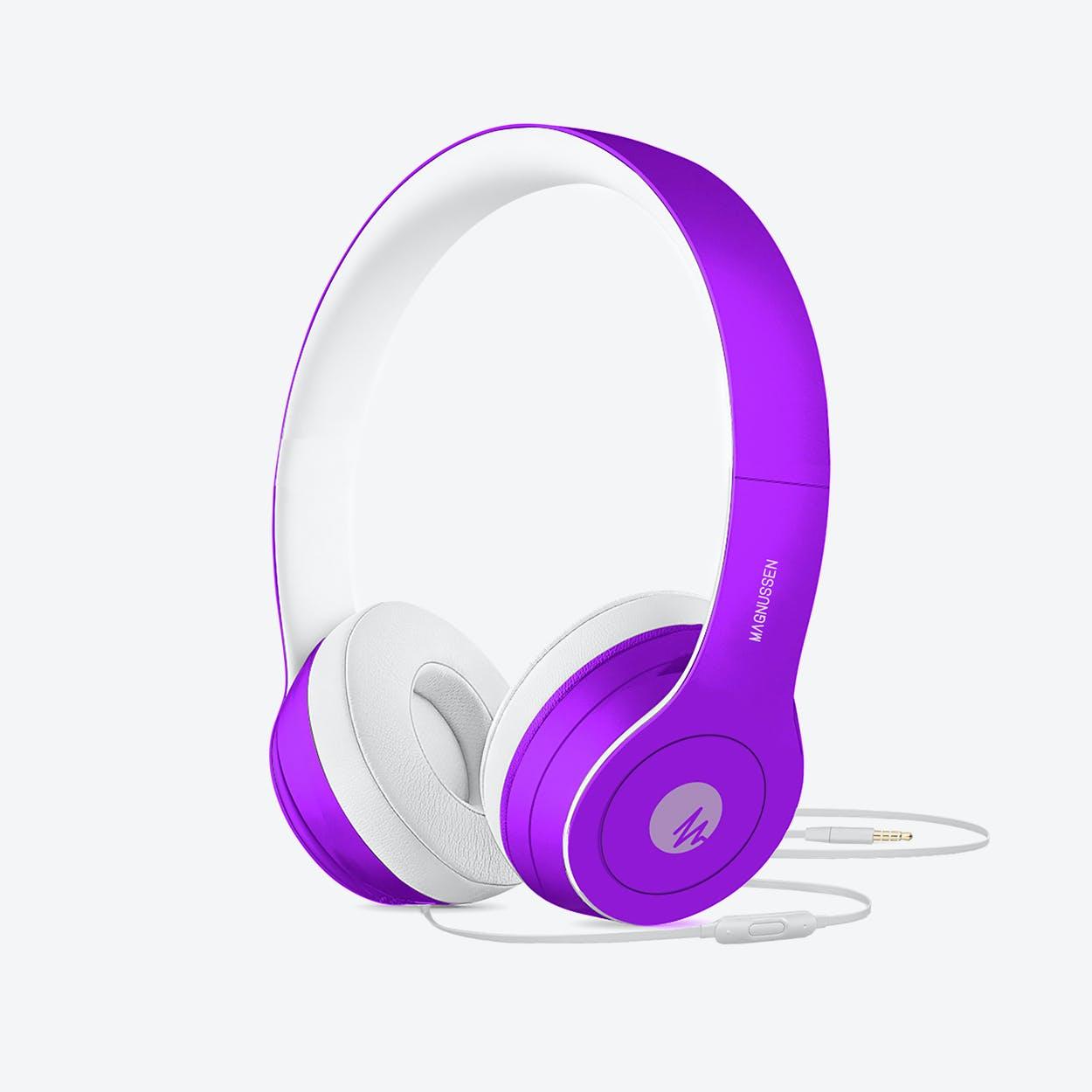 MAGNUSSEN W1 Headphones in Matte Purple