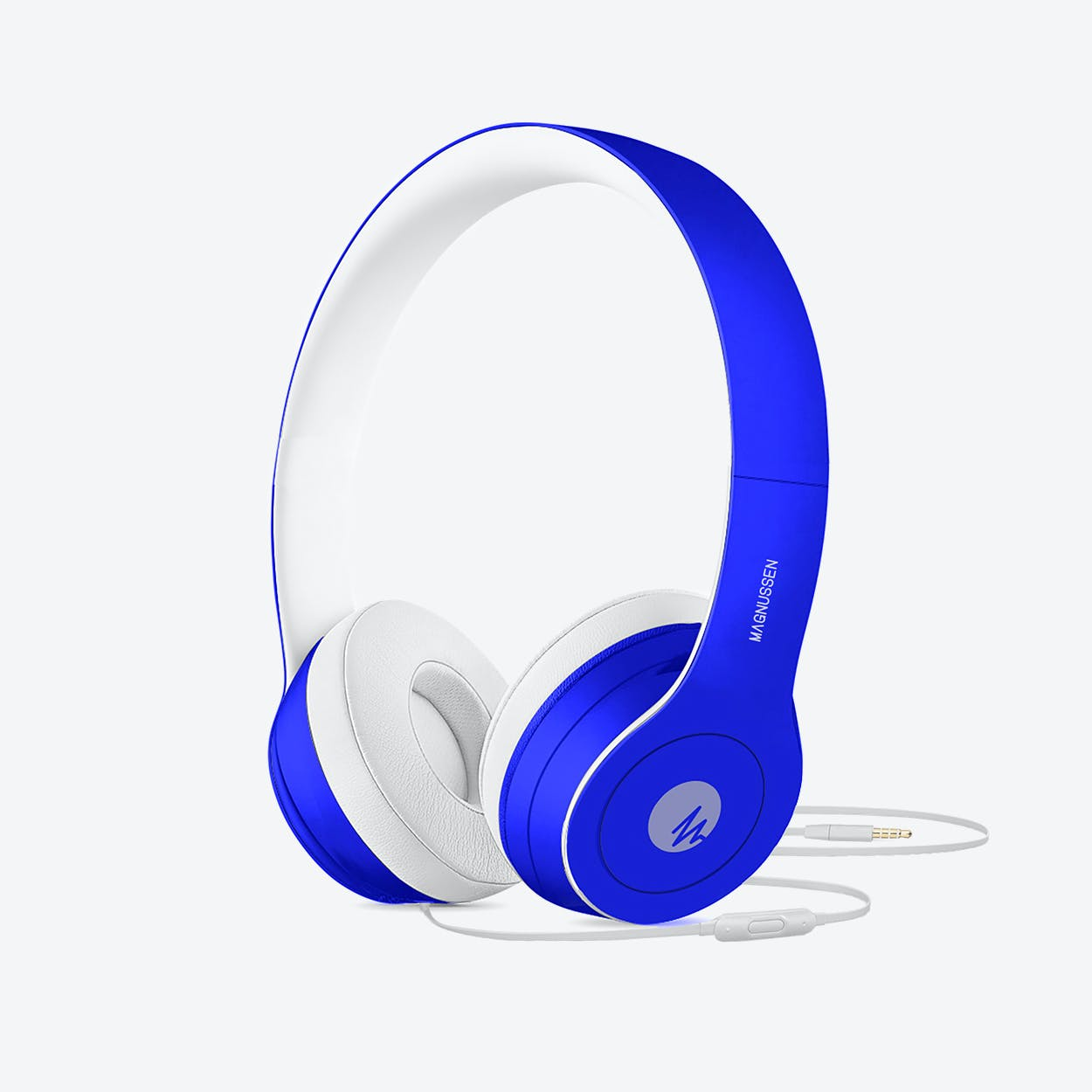 MAGNUSSEN W1 Headphones in Gloss Blue