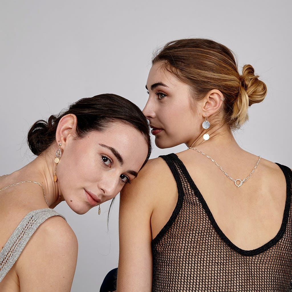 Luna Silver Earrings