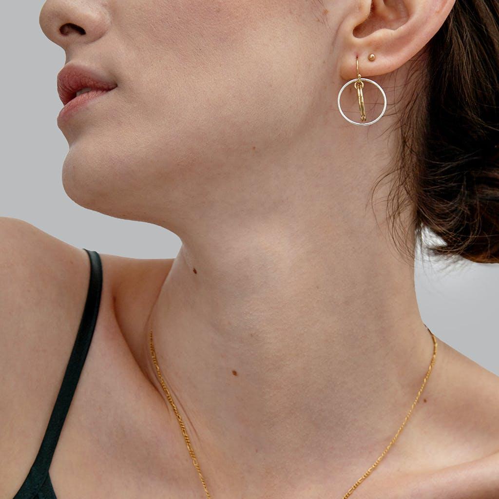Fleur Gold Earrings