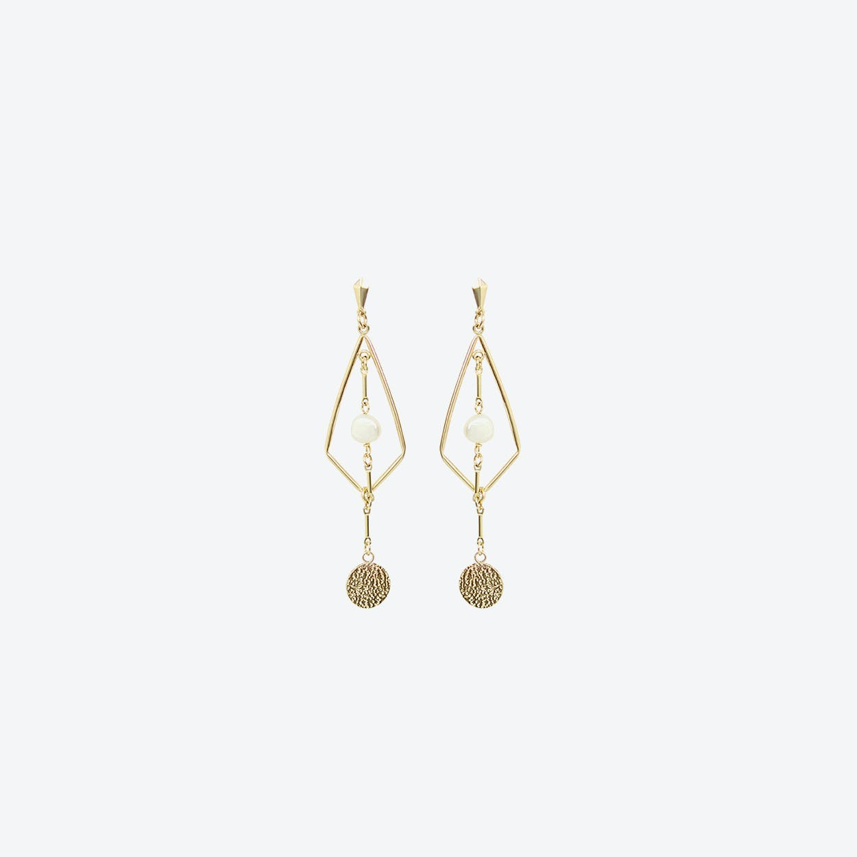 Ralph Gold Earrings