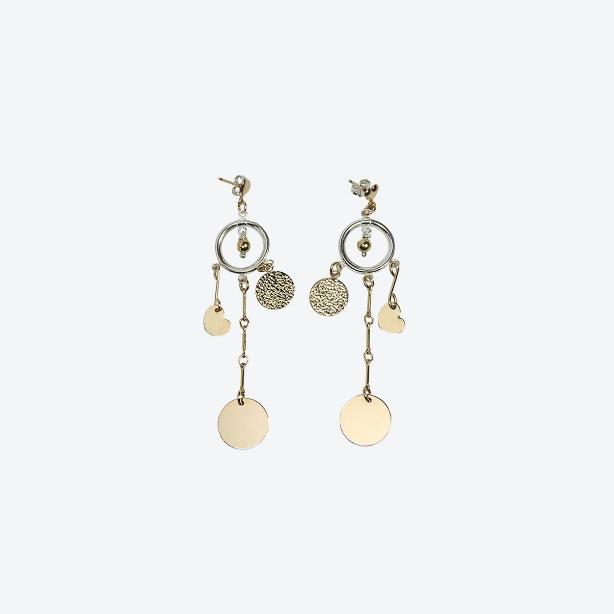 Damaris Gold Earrings