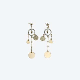 Damaris Gold Earrings