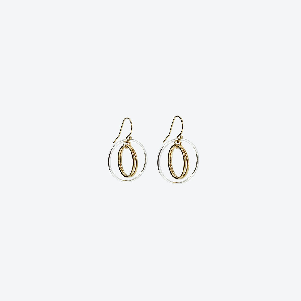 Fleur Gold Earrings