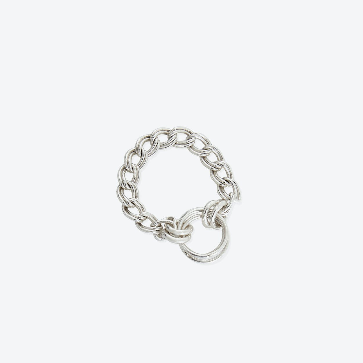 Lucy Lou Silver Rings