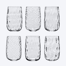 BEI Water Glass Set - 6 pcs