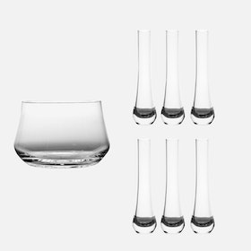 Nice On Ice Glass Set - 7 pcs