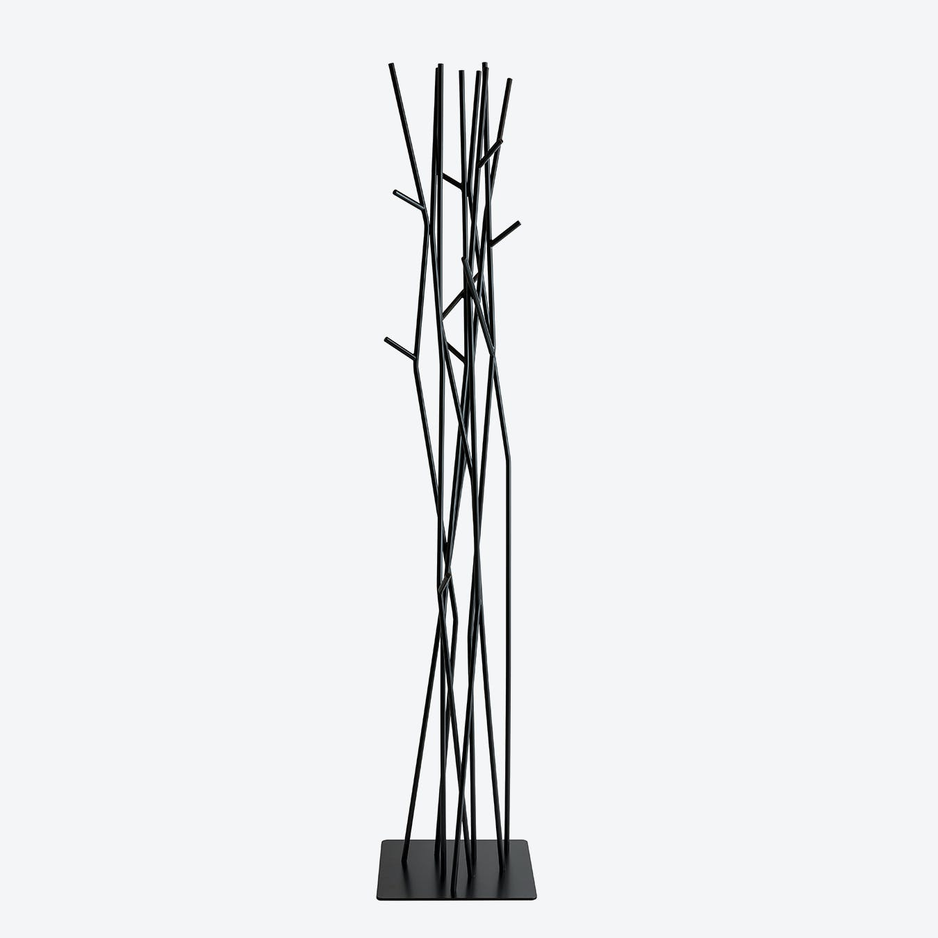 Latva Coat Stand - Jet Black