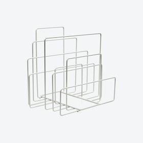 Random Magazine Holder - White