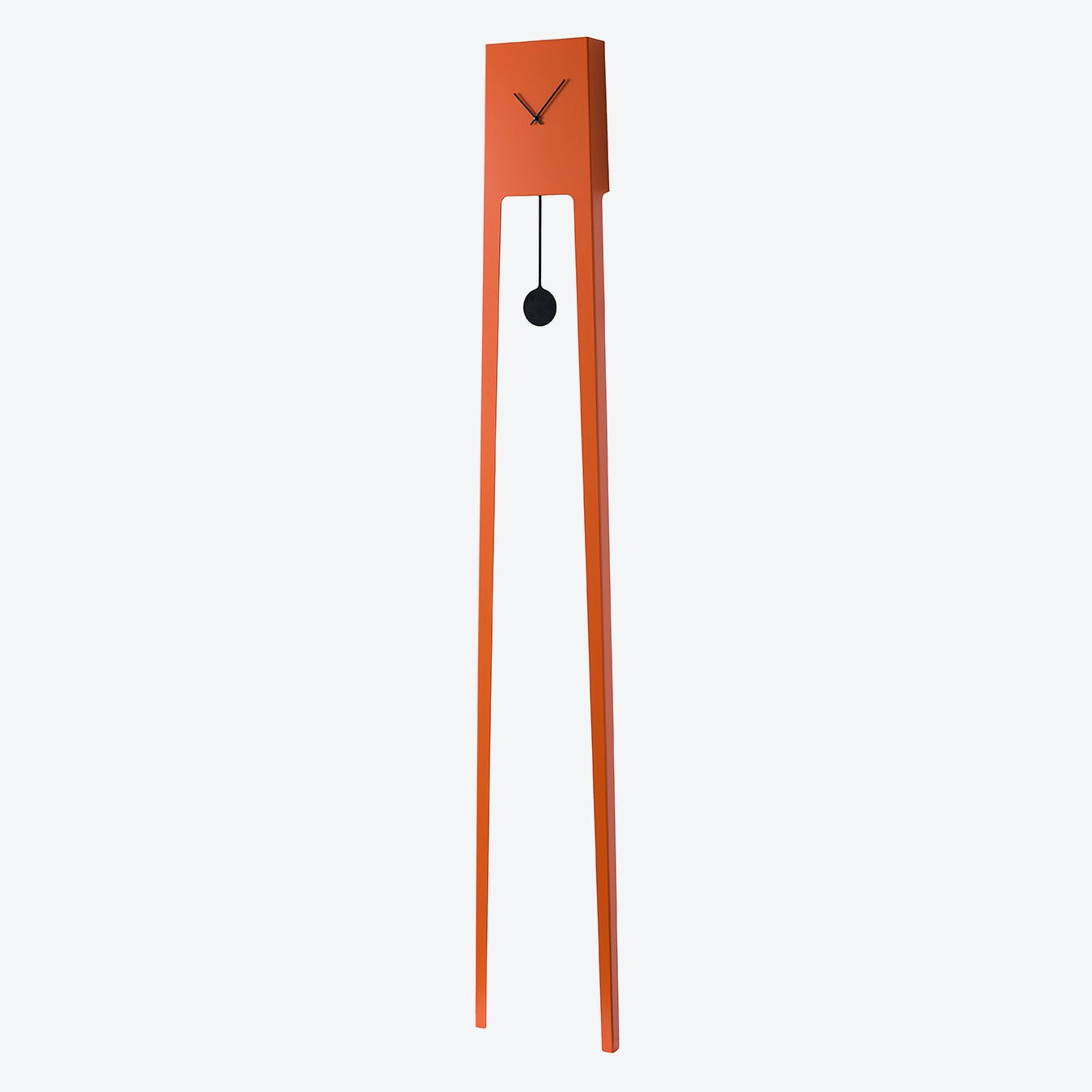 Tiuku Pendulum Clock - Traffic Orange