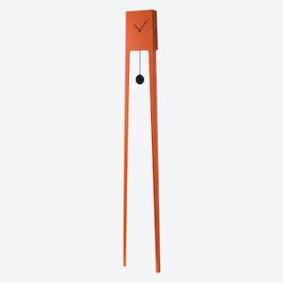 Tiuku Pendulum Clock - Traffic Orange
