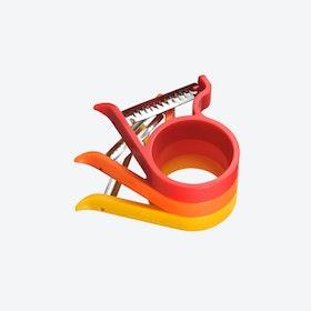 Stackable Peeler in Red