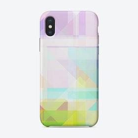 Geometric Splash iPhone Case