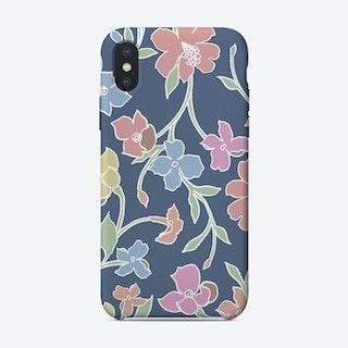 Floral Club iPhone Case