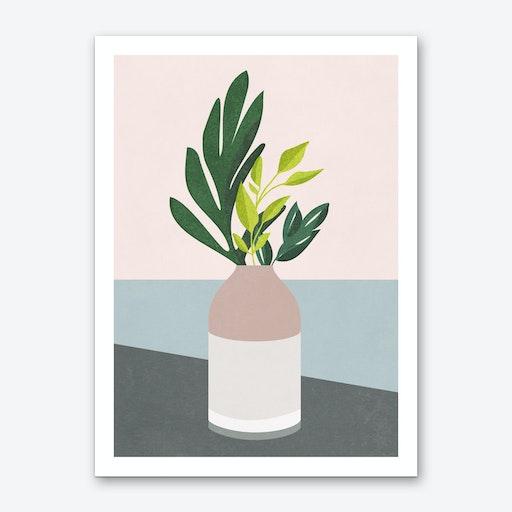 Green Leaves 1 Art Print