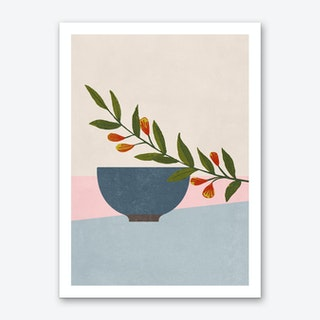Green Branch Art Print
