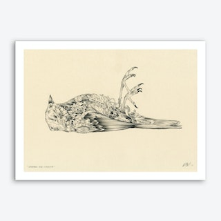 Saparrox Dies Crossing Art Print