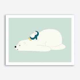 Time To Chill Art Print