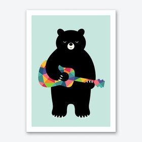 Happy Sony Art Print
