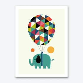 Fly High And Dream Big Art Print