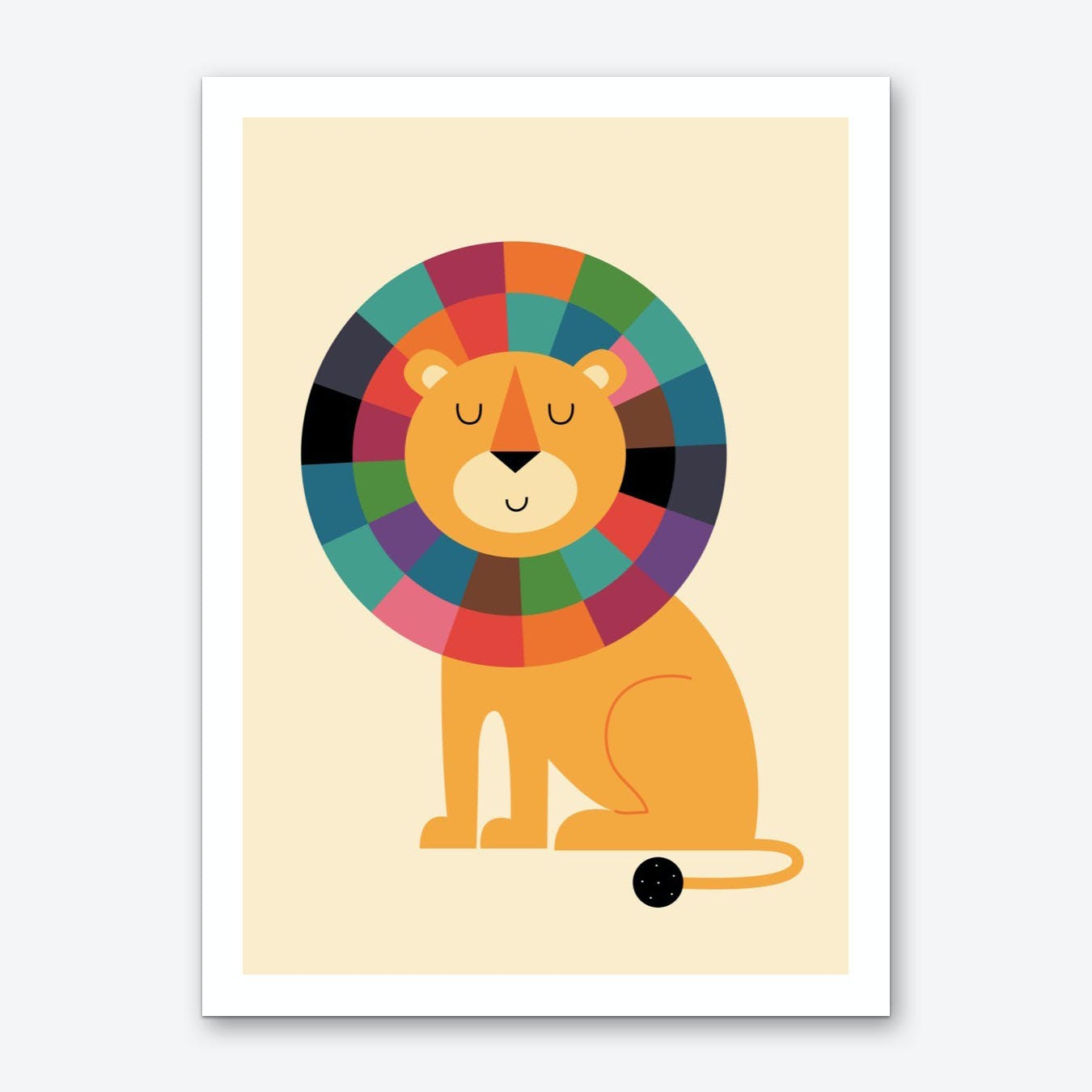 Mr. Confidence Art Print