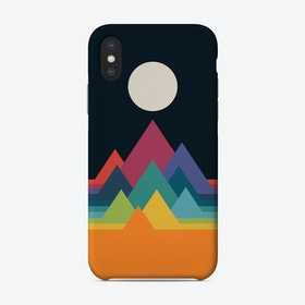 Whimsical Mountains Phone Case