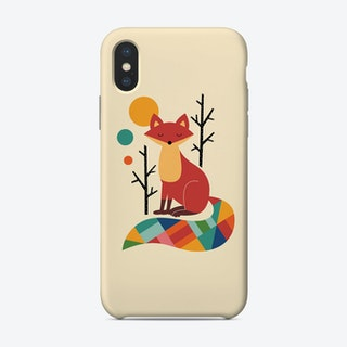 Rainbow Fox Phone Case