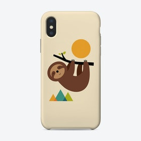 Keep Calm And Live Slow Phone Case