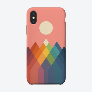 Rainbow Peak Phone Case