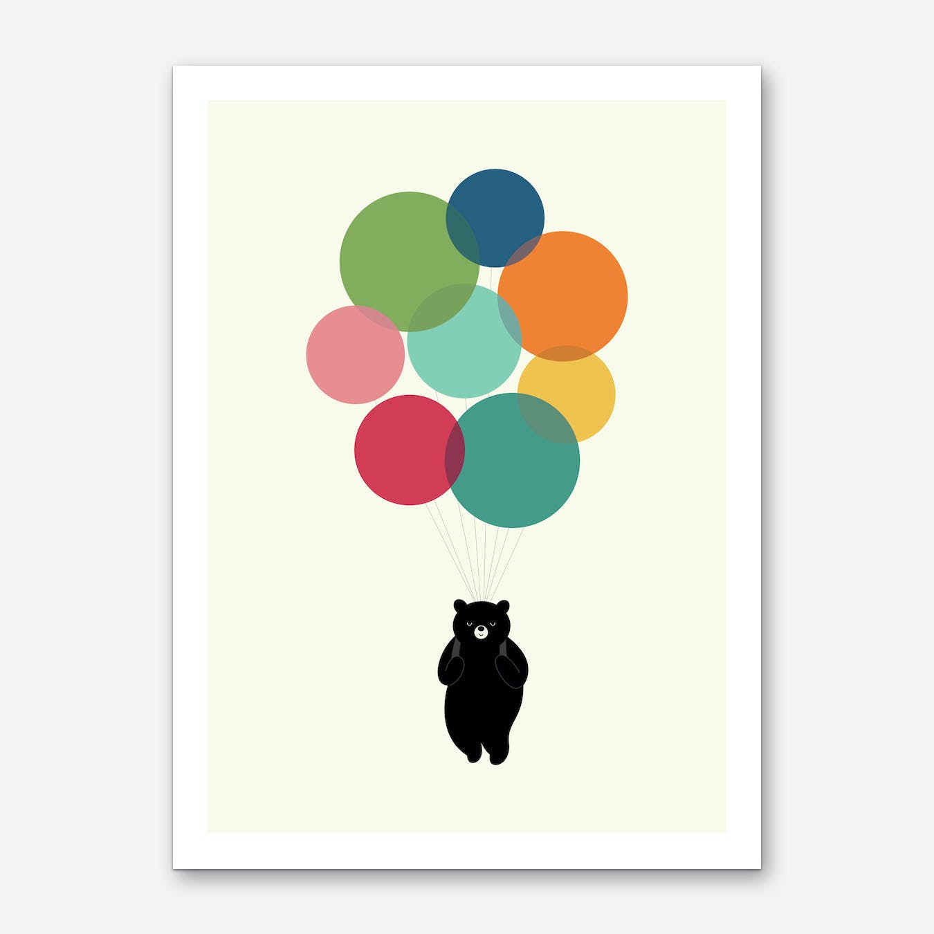 Happy Landing Art Print