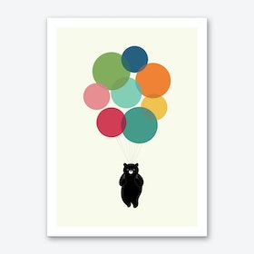 Happy Landing Art Print