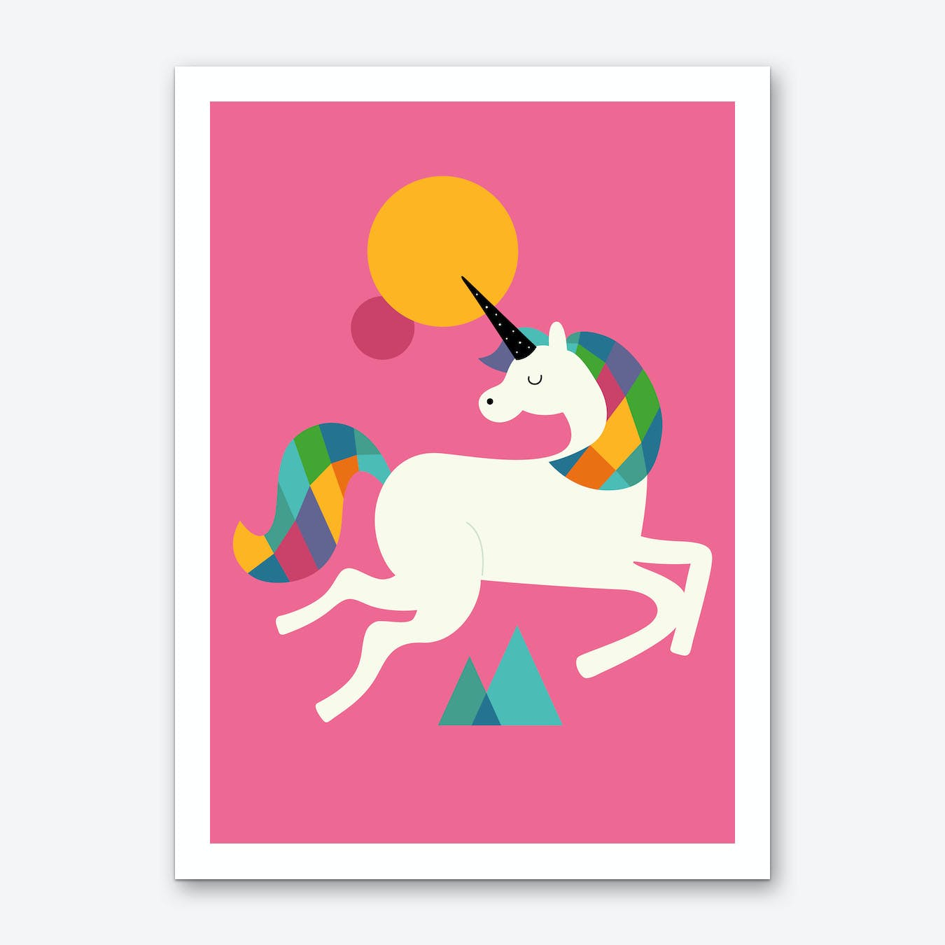 To Be A Unicorn Art Print
