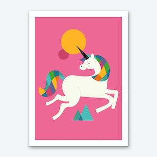 To Be A Unicorn Art Print