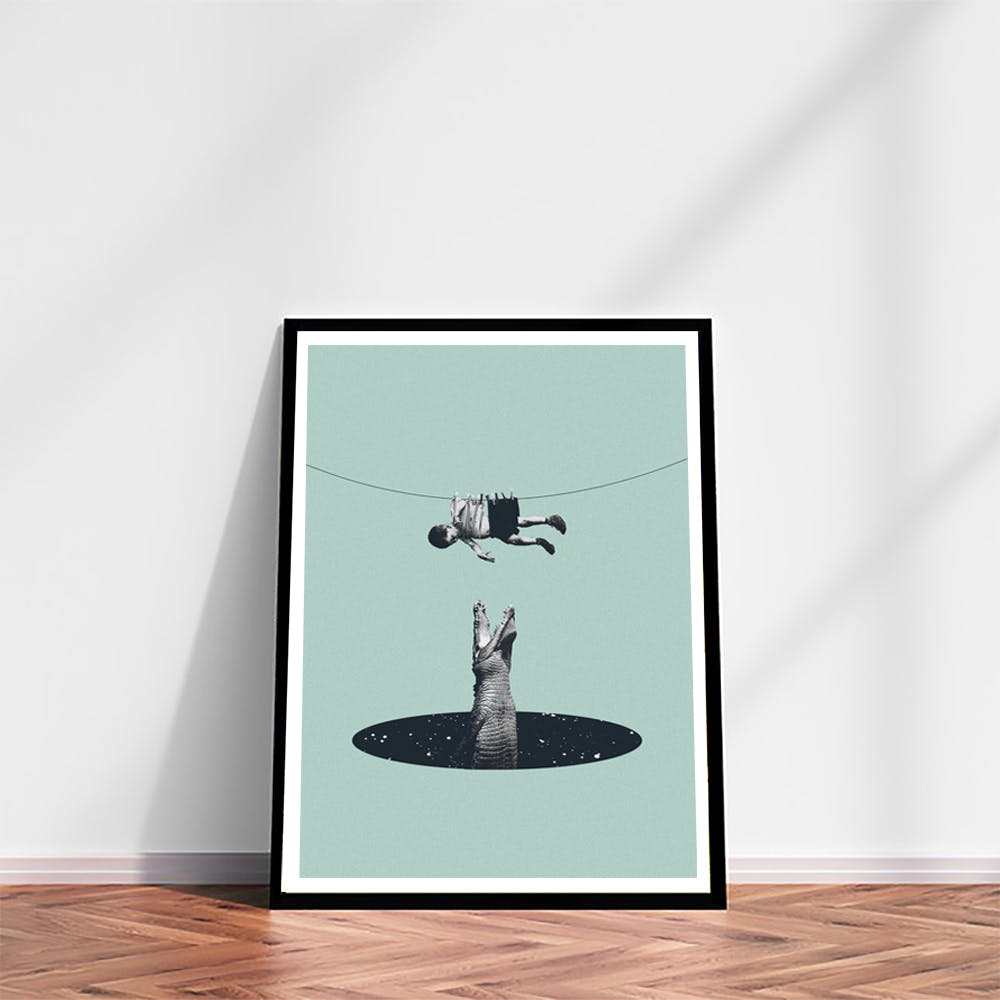 Don't You Worry About Me Art Print