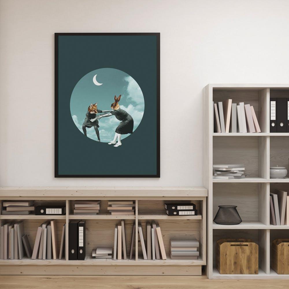 Chase The Night Art Print