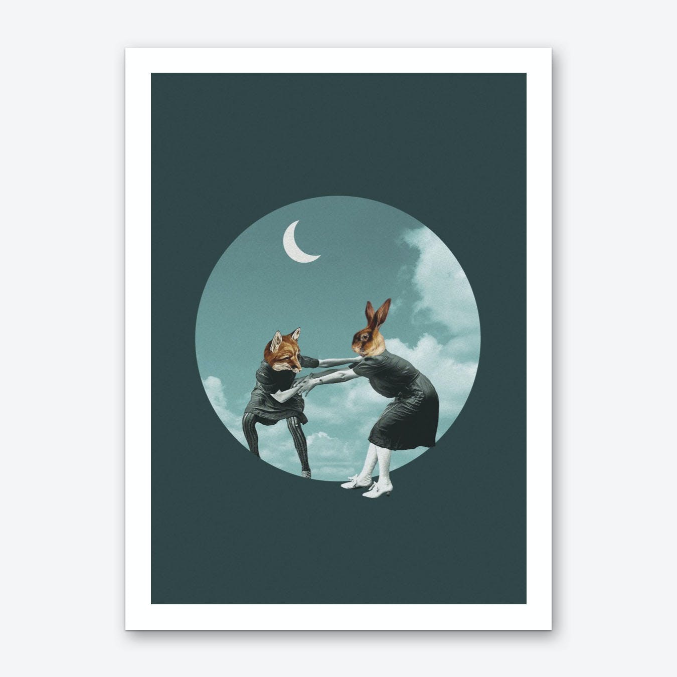 Chase The Night Art Print