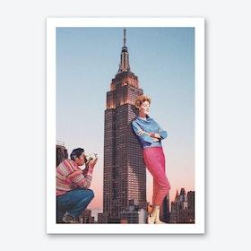 Tourists Art Print