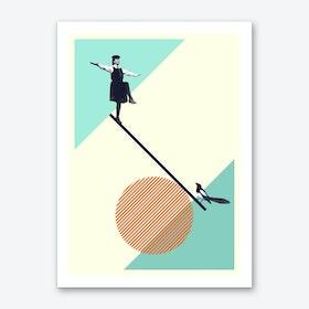 B Is For Balance Art Print