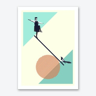 B Is For Balance Art Print