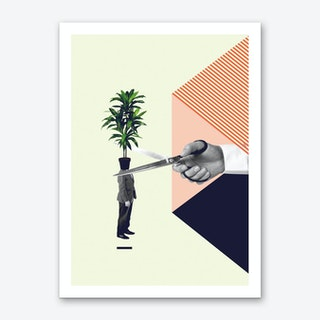 C Is For Cut The Crap Art Print