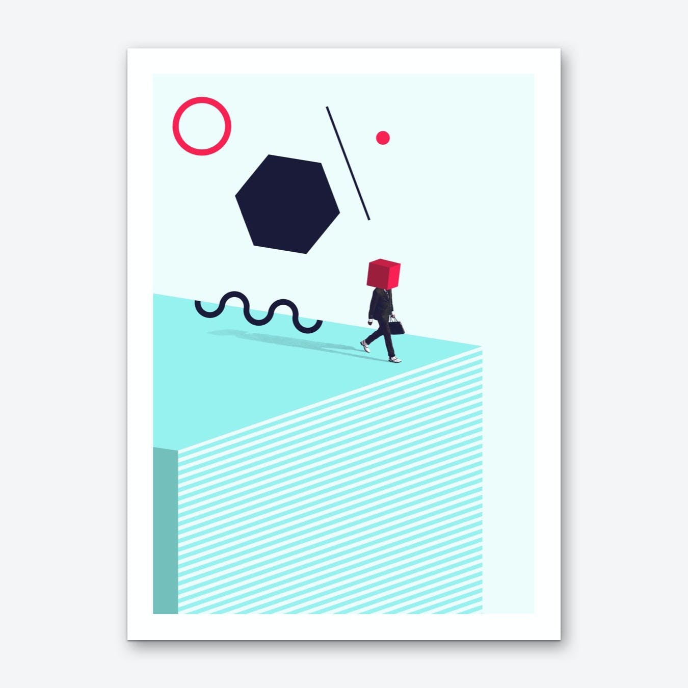 D Is For Disorder Art Print