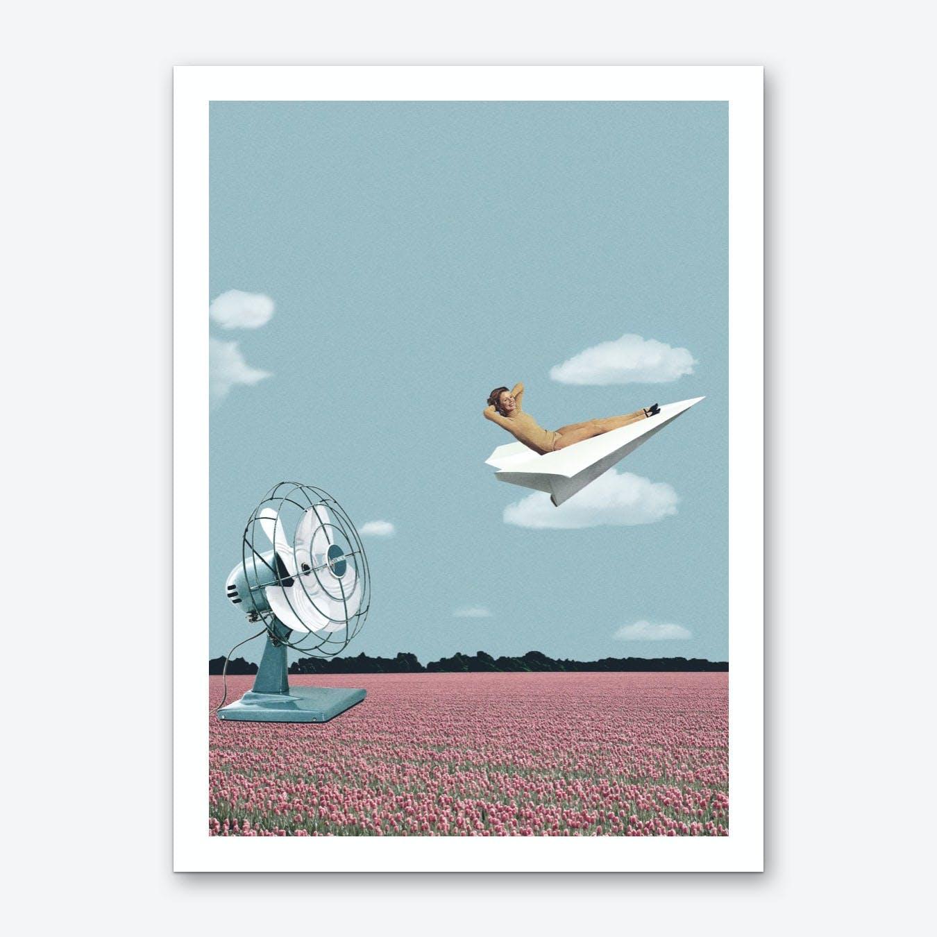 Where The Wind Takes Me Art Print