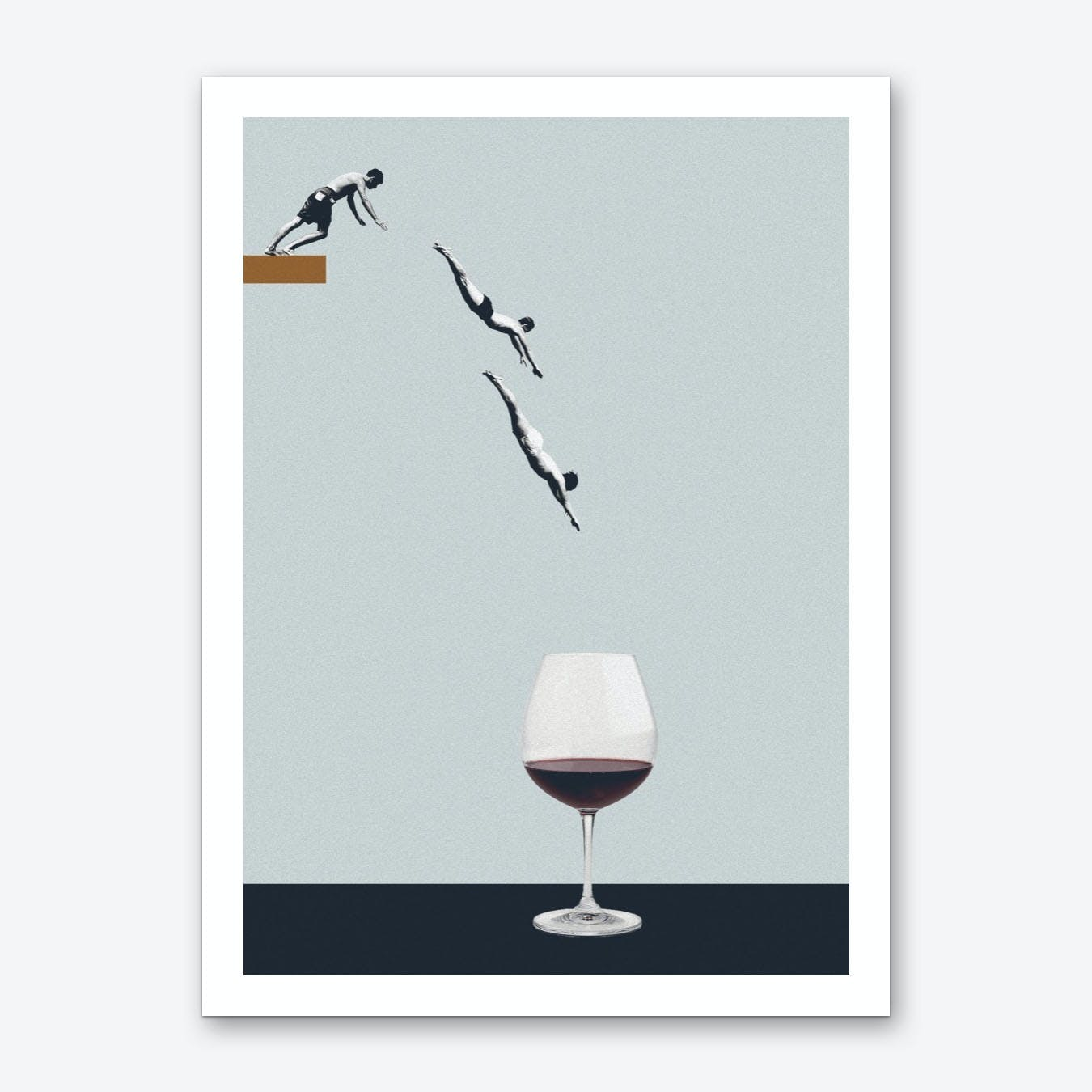 Your Best Friends Forget You Get Old Art Print