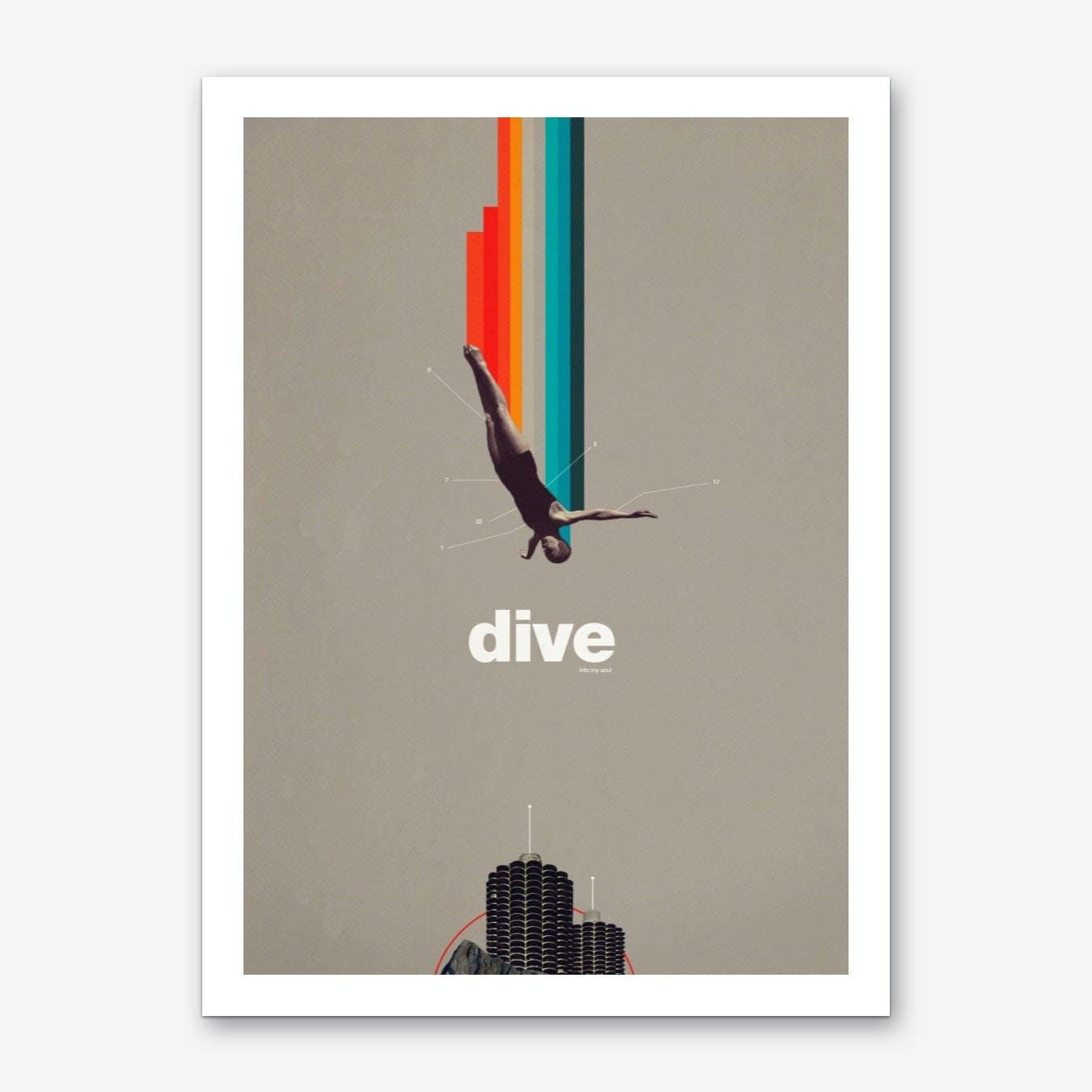Dive Into My Soul Art Print