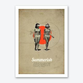 Summerish Art Print
