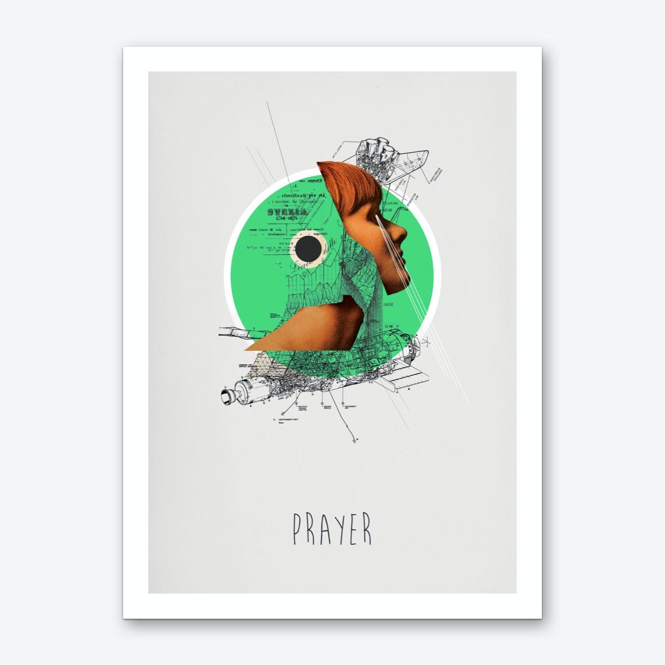 Prayer Art Print