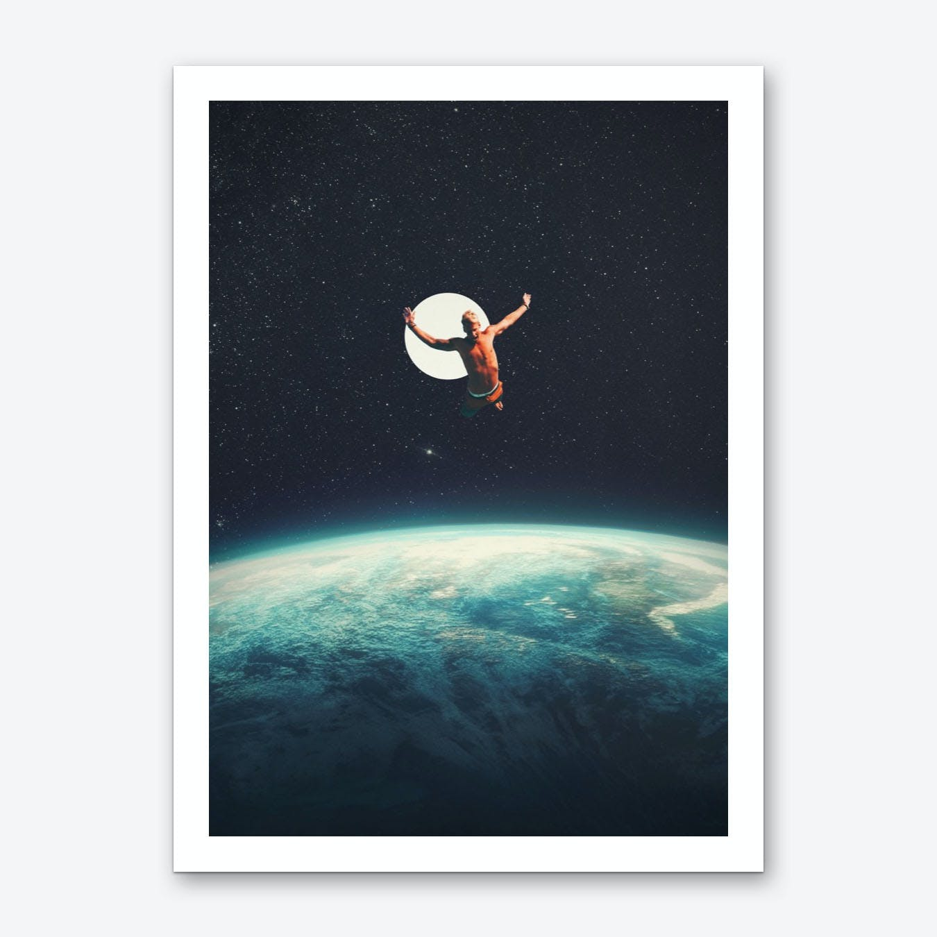 Returning To Earth With A Will To Change Art Print