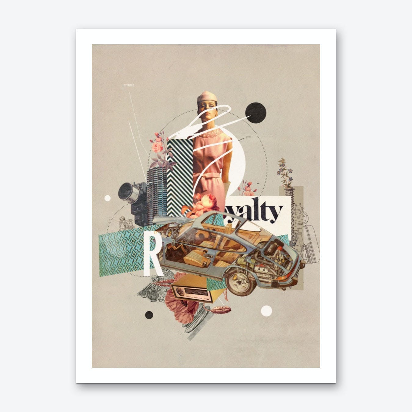 Spirited_Royalty Art Print
