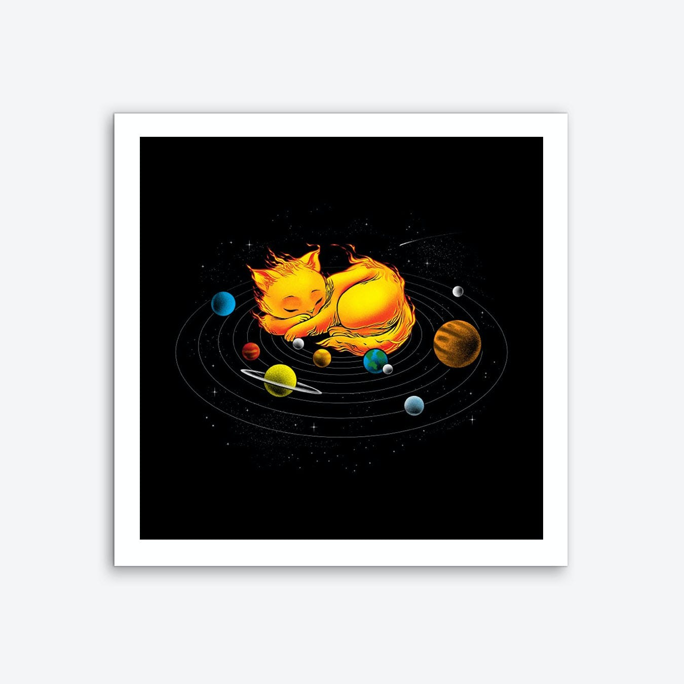 The Center of My Universe Art Print